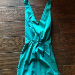 Lulu's Turquoise Low Back Dress